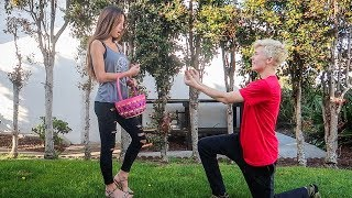 Easter Egg Hunt Proposal Prank! *SHE WAS PISSED*