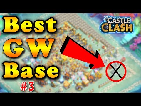 Castle Clash : Guild Wars 2018 Best Base