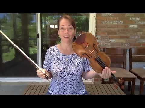 Tutorial: Bach dm Allemanda, Partita No. 2, solo violin