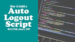 Auto Logout after Inactivity with PHP