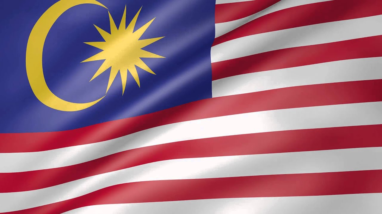 animated flag of malaysia youtube animated flag of malaysia