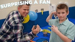 SURPRISE | Card Throwing Science Fair | Rick Smith Jr.
