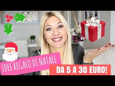 Regali di Natale: Le Migliori IDEE REGALO da 5 A 30 EURO 🎁💓