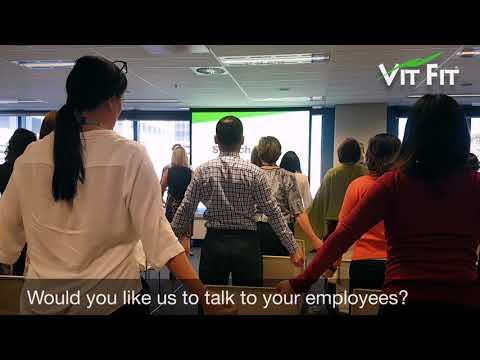 Workshop for Desk Athletes by Vit (Qantas, Sydney Australia)