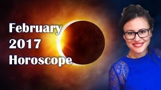 AQUARIUS February 2017 Horoscope. ECLIPSE Brings FATED RELATIONSHIP Developments!