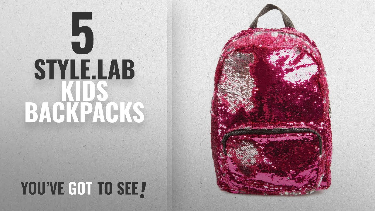1aba3ffab70ad Best Style.Lab Kids Backpacks  2018   Style.Labs Magic Sequin ...