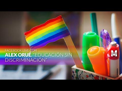 Educación sin discriminación - Alex Orué