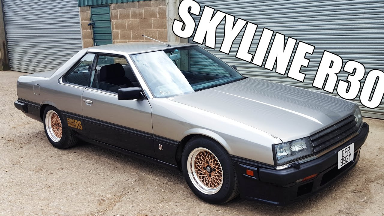 old skool cool nissan skyline r30 rs review youtube