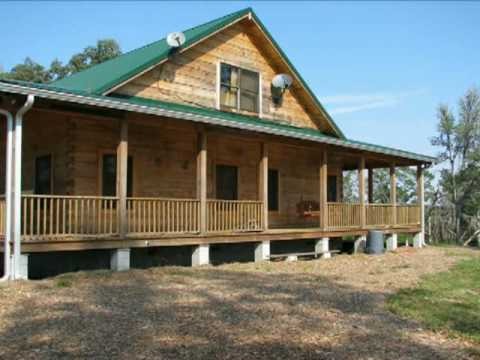 Cracker style log homes spottswood youtube for House plans florida cracker style