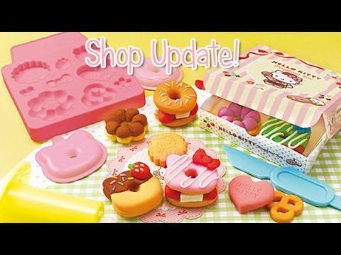 Shop update! Clay & Squishy making kit - YouTube
