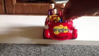 The Wiggles TOOT TOOT CHUGGA BIG RED CAR ( toy version)