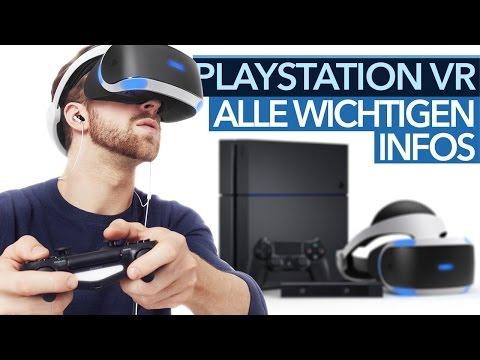 PlayStation VR: Alle Antworten im FAQ - Termin, Preis, Kamera, Spiele, PS4 Pro-Unterstützung & mehr