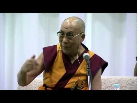 2012_11_04 His Holiness gave a public talk at Yokohama, Exhibition Hall, Japan