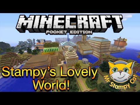 Minecraft Pocket Edition: Stampy's Lovely World | Stampy's World On MCPE