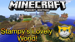 Minecraft Pocket Edition: Stampy's Lovely World | Stampy's World On MCPE