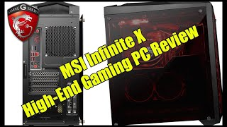 MSI Infinite X | High-End Gaming PC Review | Was kann er ?