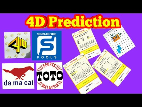 4d Prediction Formula Part-2 with Proof Past Results