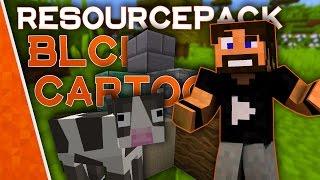 CARTOON RISOLUZIONE 512x! - [BLCK] Cartoon (1.9.4) - Minecraft Resource Pack Review [ITA]
