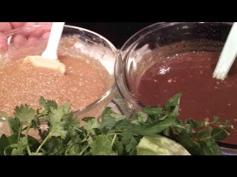 C/w Nana: Lao Sauces for Veggie Wraps (ແຈ່ວພັນໝ້ຽງ == Jeo Pun Mieng)