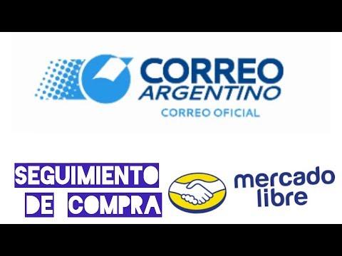 Seguimiento correo argentino 📱MERCADOLIBRE📱
