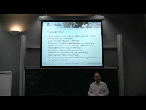 1. eb-Forms, webforms for standard electronic business documents - Fred van Blommestein