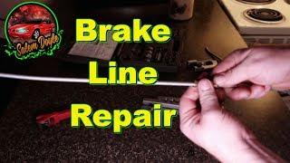 The REAL way to repair metal brake lines !