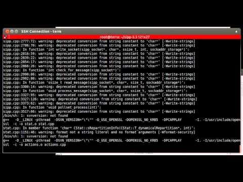 Install SIPp 3 3 on Ubuntu 12 04 Server