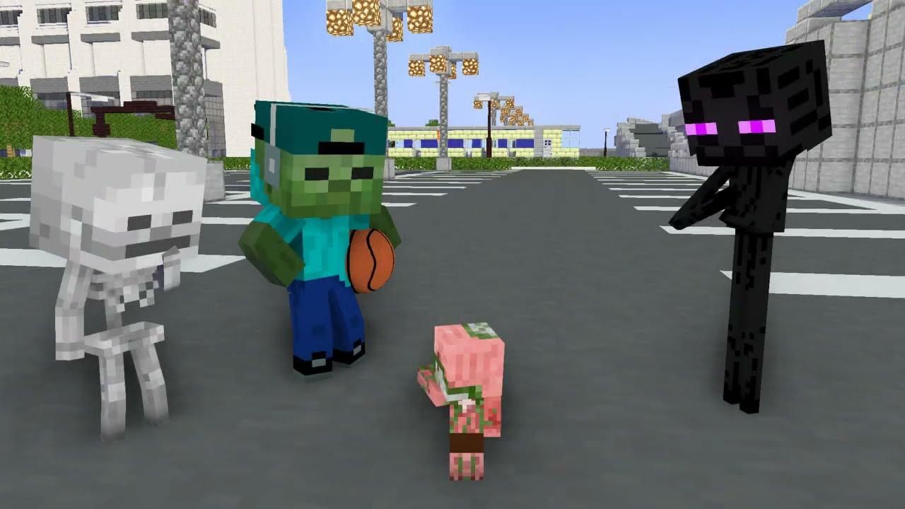 Download Monster School : PIGMANS HATE HEROBRINE FAMILY - Minecraft Animation