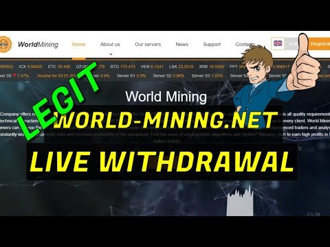 LEGIT World-Mining.net Free 30 G/Hs Cloud Mining