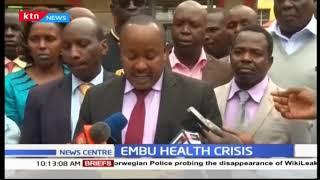 Embu health crisis
