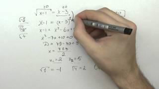 Решение уравнения. Важная тема! (досмотрите до конца)