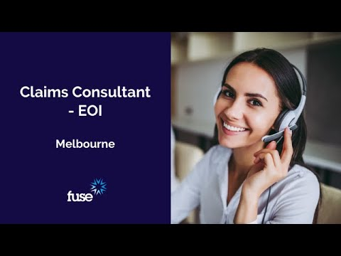 Job Opportunity: Claims Consultant, Melbourne