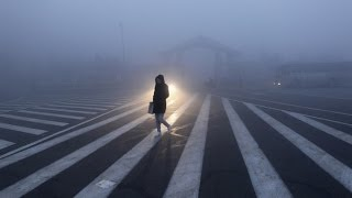 25 provinces covered with smog Shanghai polluted by blue air pollution alarm rings over China