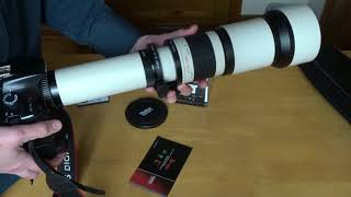 Review of the 650-1300 Budget Vivitar/Opteka/Bower Telephoto Lens
