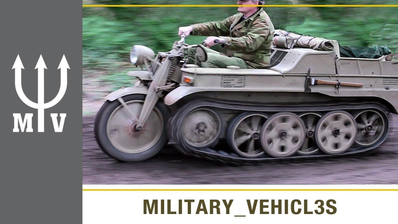 Ww2 German vehicles: Kettenkraftrad HK101