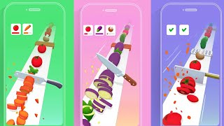 Best Android, iOS Games - Slice Master: Cut Vegetables screenshot 5