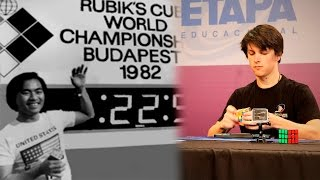 History of Rubik's Cube World Records 1982 - 2016