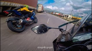 Yamaha R15 V3 In Action | Street Racing