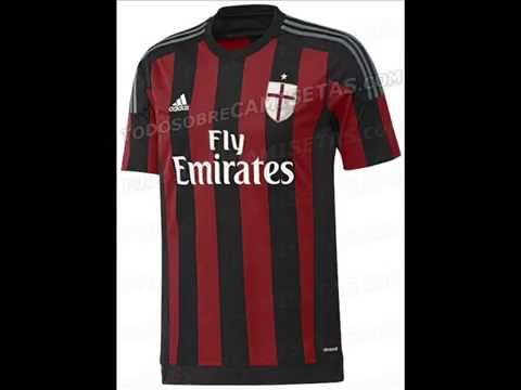 new product 60f96 7c016 ★ AC MILAN 2015/2016 NEW KITS ★ EXCLUSIVE ✓