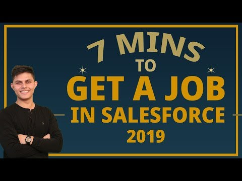 Get A JOB As A FRESHER In SALESFORCE Ecosystem In Just 7 Minutes