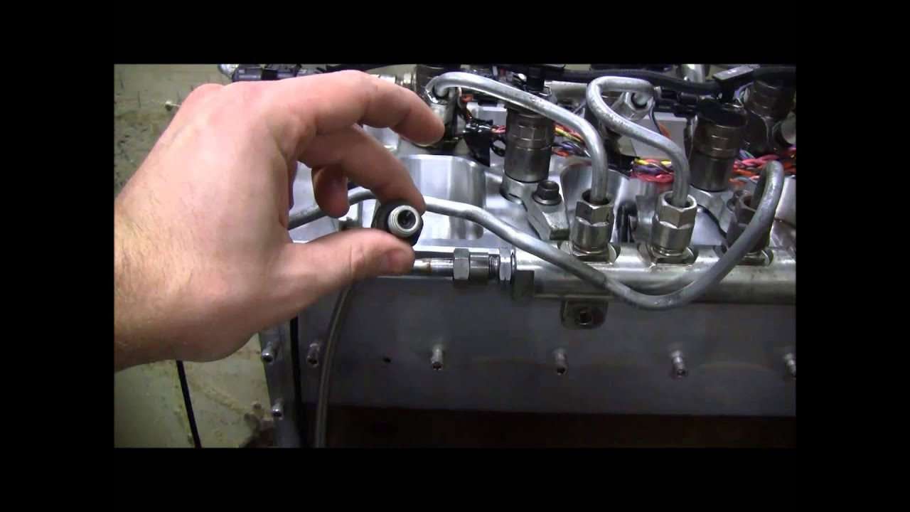 Ported Fuel Rail Fitting Test Youtube