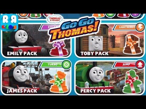 Thomas & Friends: Go Go Thomas! (By Budge Studios) - Unlock Toby, Percy, James and Emily