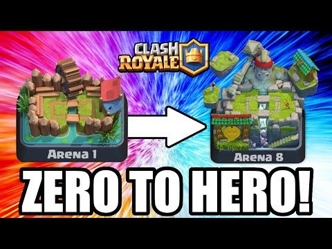 Clash Royale | ZERO TO HERO!! TROLLING LOW ARENA'S! | ALL SPAWNER DECK TROLLING!