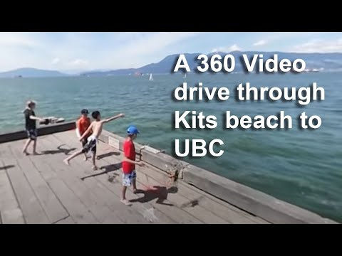 360 video tour of West Point Grey Vancouver BC July 1, 2017