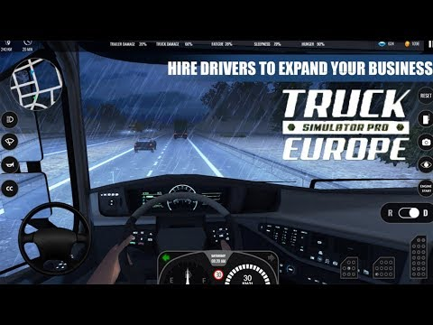 Truck Simulator PRO Europe (By Mageeks Apps & Games) Gameplay Video