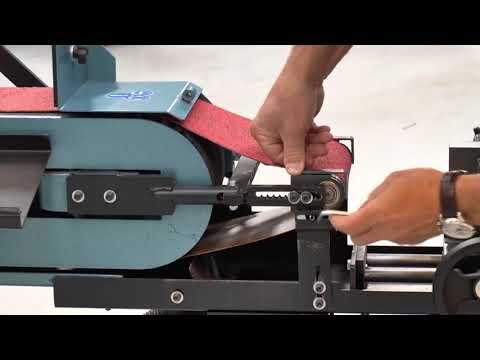 Kako pretvoriti SCANTOOL tračnu brusilicu u brusilicu za radijus na cijevima