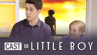 "David Henrie and the ""Little Boy"" cast on TODAY Show"