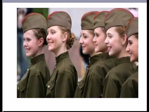 Youtube Russian Woman Army 86