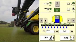 John Deere - HD200 GPS PrecisionSprayer - Personalizar la información que se muestra en la pantalla