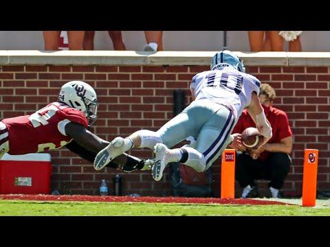 K-State Vs Oklahoma Football Highlights